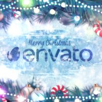 VIDEOHIVE WINTER HOLIDAYS LOGO REVEAL FREE DOWNLOAD