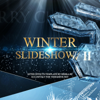 VIDEOHIVE WINTER SLIDESHOW II FREE DOWNLOAD