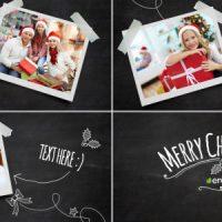 VIDEOHIVE CHRISTMAS BLACKBOARD FREE DOWNLOAD