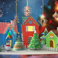 VIDEOHIVE CHRISTMAS PAPER CARD FREE DOWNLOAD