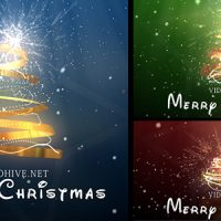 VIDEOHIVE CHRISTMAS TREE FREE DOWNLOAD
