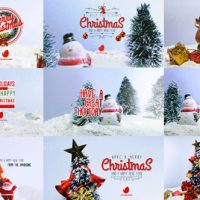 VIDEOHIVE 10 MINIATURE CHRISTMAS WISHES FREE DOWNLOAD