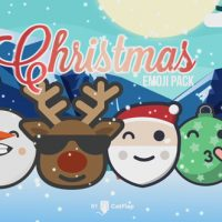 VIDEOHIVE 120 ANIMATED EMOJIS – CHRISTMAS PACK FREE DOWNLOAD
