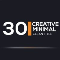 VIDEOHIVE 30 MINIMAL CLEAN TITLES FREE DOWNLOAD