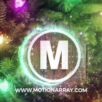 MAGIC CHRISTMAS LOGO – AFTER EFFECTS TEMPLATE (MOTION ARRAY)