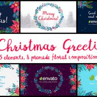 VIDEOHIVE 6 CHRISTMAS GREETINGS FREE DOWNLOAD