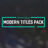 VIDEOHIVE MODERN TITLES PACK II FREE DOWNLOAD