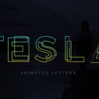 VIDEOHIVE TESLA ANIMATED LETTERS FREE DOWNLOAD