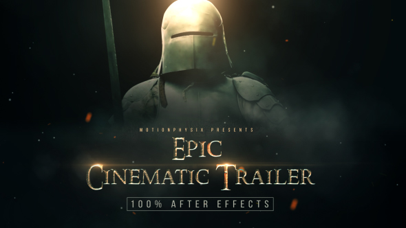 VIDEOHIVE EPIC CINEMATIC TRAILER FREE DOWNLOAD - Free After Effects