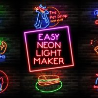 VIDEOHIVE EASY NEON LIGHTS MAKER FREE DOWNLOAD