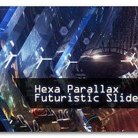VIDEOHIVE HEXA PARALLAX | FUTURISTIC SLIDESHOW