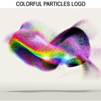 VIDEOHIVE COLORFUL PARTICLES LOGO FREE DOWNLOAD