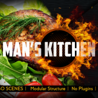 VIDEOHIVE MEN'S KITCHEN MENU FREE DOWNLOAD