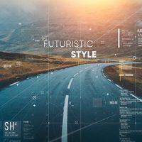 VIDEOHIVE FUTURISTIC PARALLAX SLIDESHOW