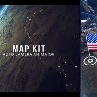 VIDEOHIVE MAP KIT – AFTER EFFECTS TEMPLATE