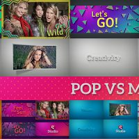 VIDEOHIVE POP VS MINIMAL | FAST SLIDESHOW PACK