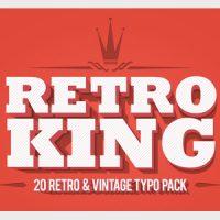 VIDEOHIVE RETRO KING FREE DOWNLOAD