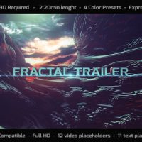 VIDEOHIVE FRACTAL TRAILER FREE DOWNLOAD