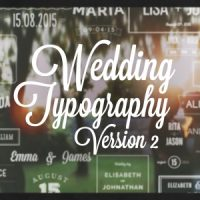 VIDEOHIVE WEDDING TYPOGRAPHY TITLES – VERSION 2