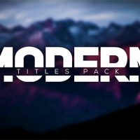 VIDEOHIVE MODERN INTRO TITLES PACK LLL FREE DOWNLOAD