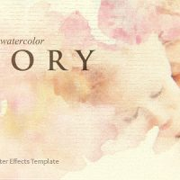 VIDEOHIVE WATERCOLOR STORY FREE DOWNLOAD