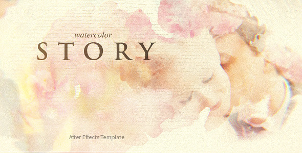 videohive watercolor story free download free after effects