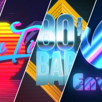 VIDEOHIVE 80'S BABY | VHS LOGO-TITLES OPENER