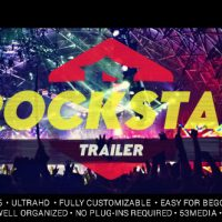 VIDEOHIVE ROCKSTAR TRAILER FREE DOWNLOAD TEMPLATE