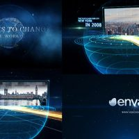 VIDEOHIVE EARTH LINE AND POSTCARD OPENER FREE DOWNLOAD