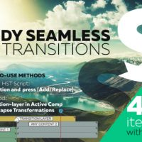 Videohive – Handy Seamless Transitions | Pack & Script V.3 18967340 – Free Download