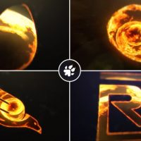 Videohive – Fire Vortex Logo 19438036 – Free Download