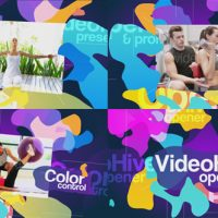 VideoHive – Colored Blots Opener – 19212959 Free Download