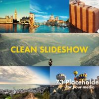 Videohive – Clean Slideshow 19336413 – Free Download