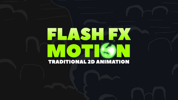 flash fx motion - traditional 2d animated elements free - free, Presentation templates