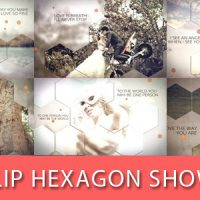 VIDEOHIVE FLIP HEXAGON SHOW FREE DOWNLOAD