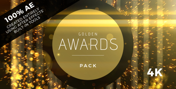 VIDEOHIVE GOLDEN AWARDS EVENT PACK FREE DOWNLOAD - Free After