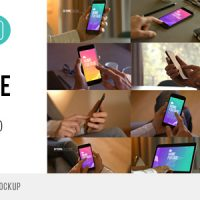 VIDEOHIVE HOME FOOTAGE MOBILE MOCKUP