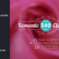 VIDEOHIVE ROMANTIC ELEMENTS & TITLES FREE DOWNLOAD