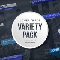 VIDEOHIVE LOWER THIRDS VARIETY PACK FREE DOWNLOAD