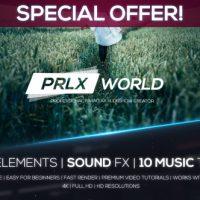 VIDEOHIVE PARALLAX WORLD – PROFESSIONAL PARALLAX SLIDESHOW CREATOR