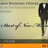 Videohive – Hand Drawn Wedding Opener 681908 – Free Download