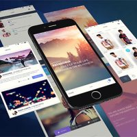 VIDEOHIVE PHONE APP PRESENTATION TEMPLATE