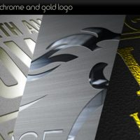 VIDEOHIVE PLATINUM SILVER CHROME AND GOLD LOGO