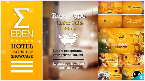 Videohive Hotel FactSheet Showcase Free Download  Free After