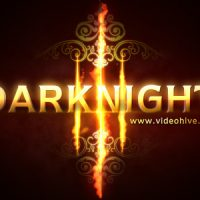 DARKNIGHT LOGO REVEAL – AFTER EFFECTS PROJECT (VIDEOHIVE)