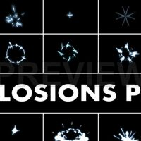 Explosion Elements Pack 2 Stock Motion Graphics