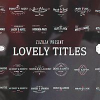 VIDEOHIVE LOVELY TITLES FREE DOWNLOAD