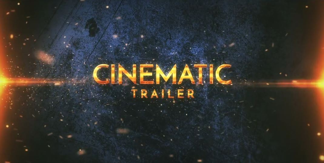 Cinematic Epic Trailer After Effects Templates