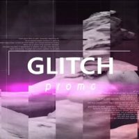 Glitch promo After Effects Templates
