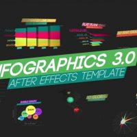 FluxVfx – Infographics V3 After Effects Template